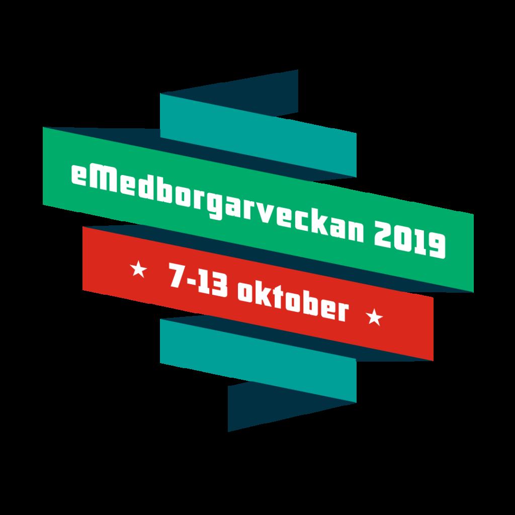 eMedborgarveckans logotyp